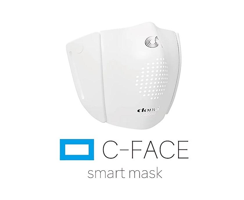 smart C-Mask donut robotics face mask