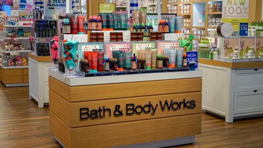 Bath and Body Works Store Retail Sales