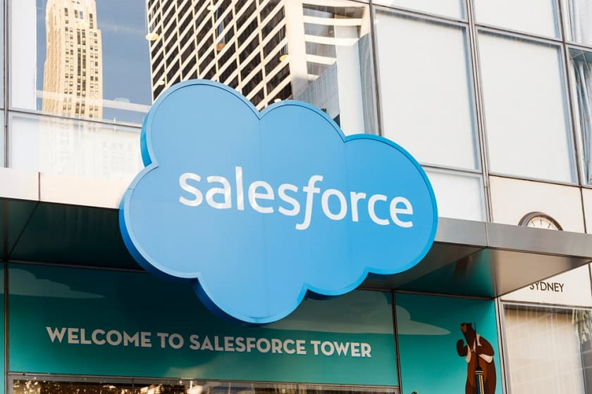 Salesforce layoffs revenue 2020