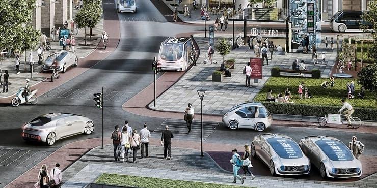 Bosch and Daimler autonomous car