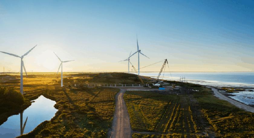 Apple Denmark Esbjerg Offshore Wind Turbines