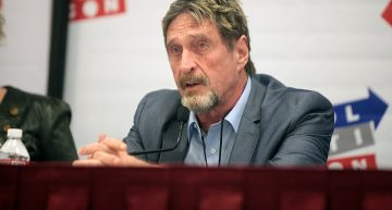 John McAfee arrested for tax evasion and fraud in Spain