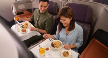 Singapore Airlines Opens Pop-up Restaurant in 380As