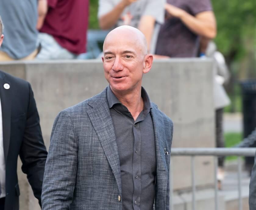 Jeff Bezos Amazon shares