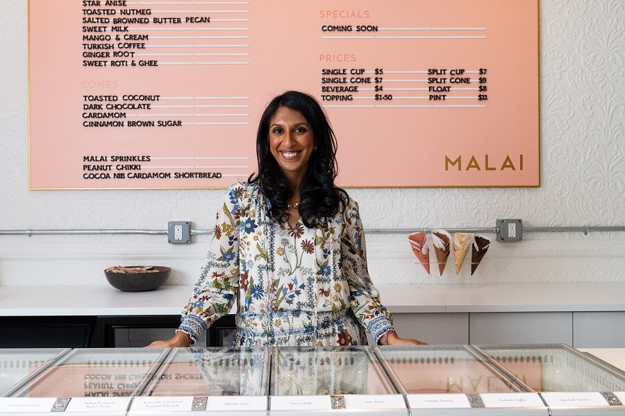 Pooja Bavishi Malai Ice Cream New York