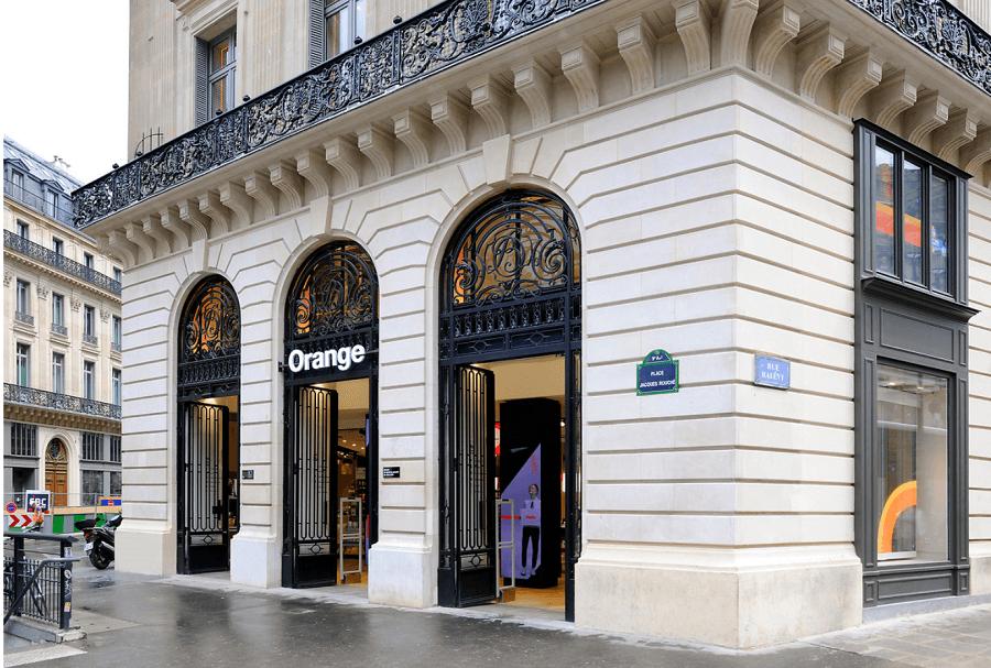 Orange Opéra shop Paris
