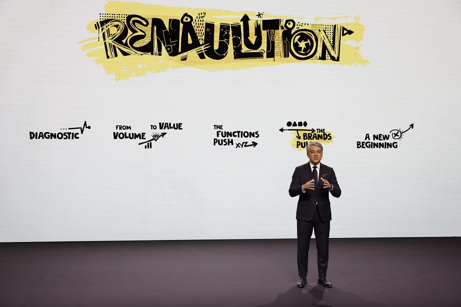 Groupe Renault Strategic Plan Renaulution