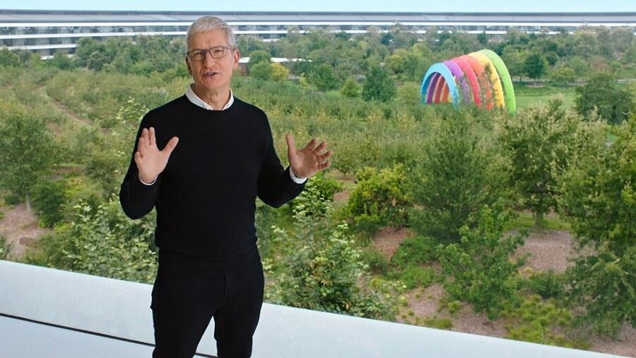 Tim Cook Keynote Apple Earnings Q1