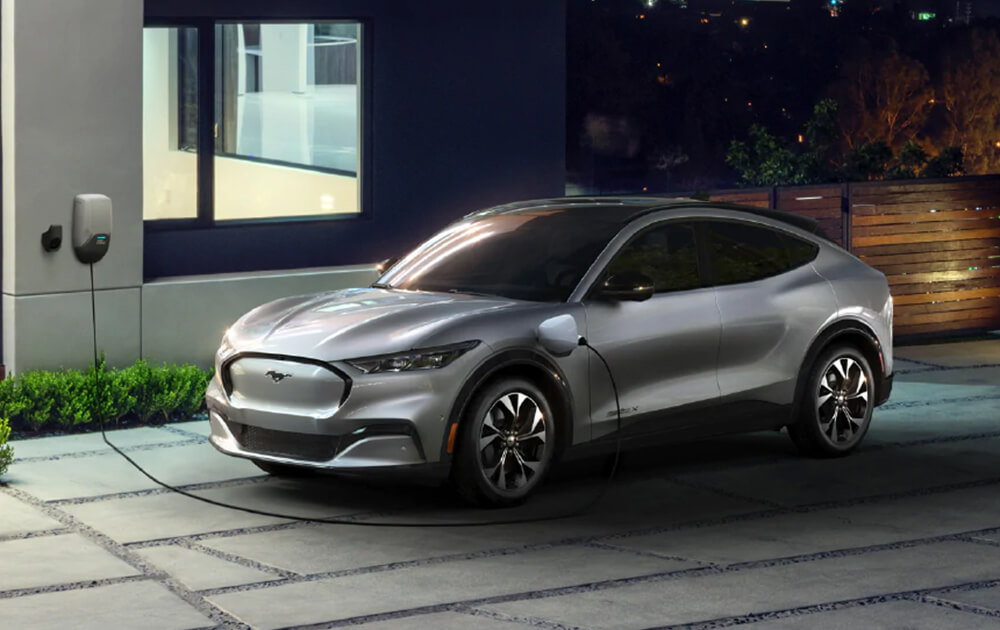 Ford Mustang Mach E Suv (Under Increased EV Investments)
