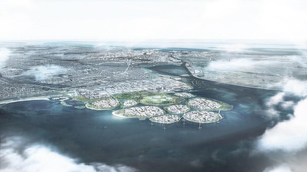 Holmene Project Denmark Artificial Islands