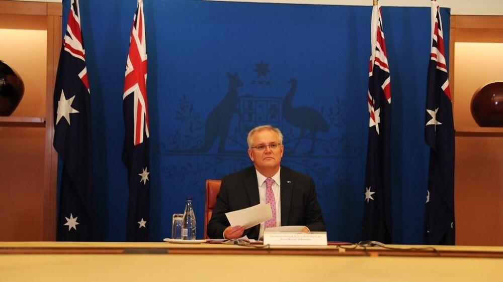 Scott Morrison Australia Facebook News Media Bargaining Code