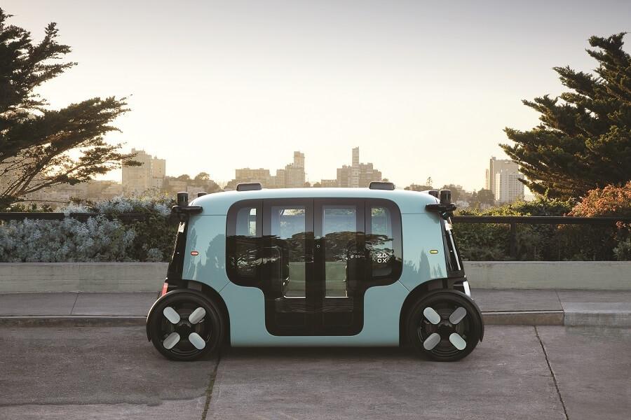 Amazon's Zoox Robotaxis Autonomous Car