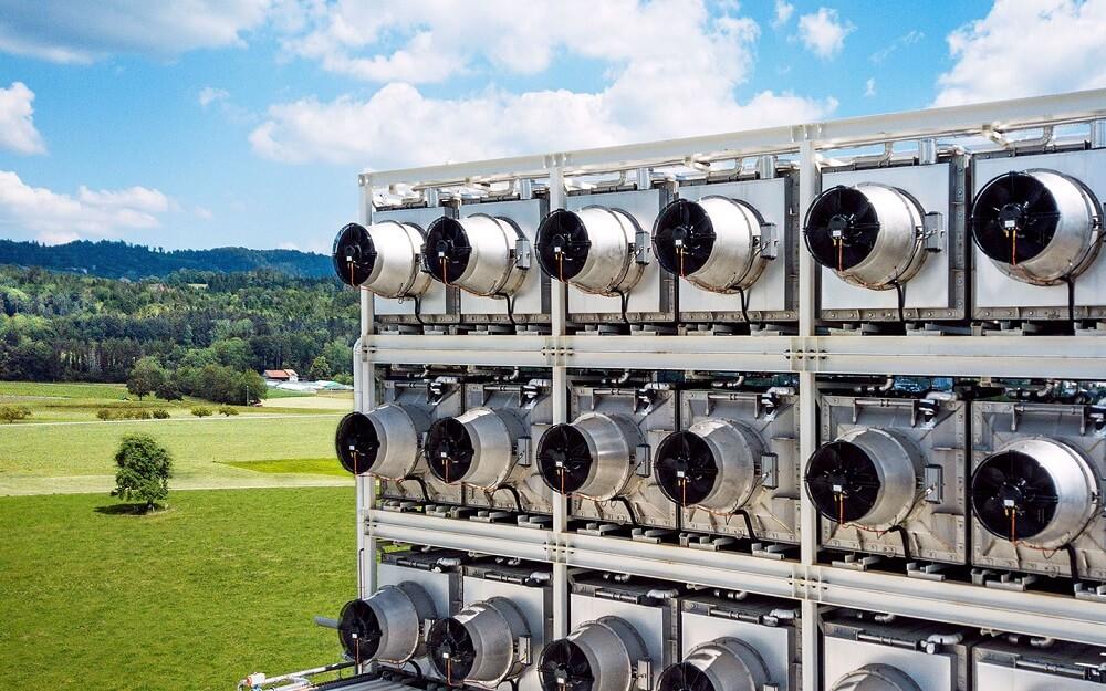Climeworks direct air capture plant