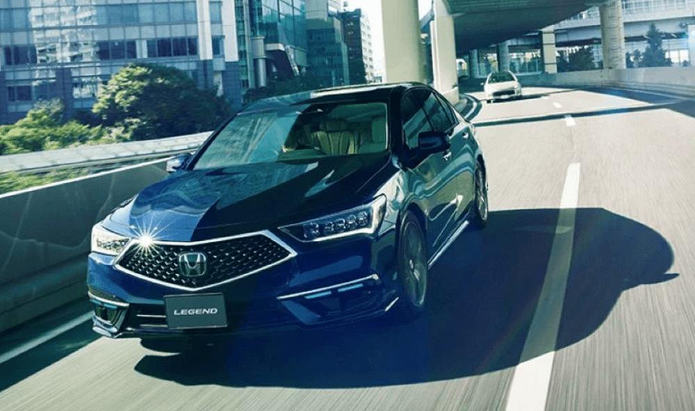 Honda Autonomous Sedan Legend