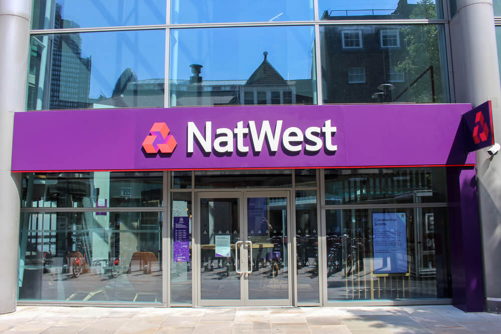 NatWest Bank in Central London