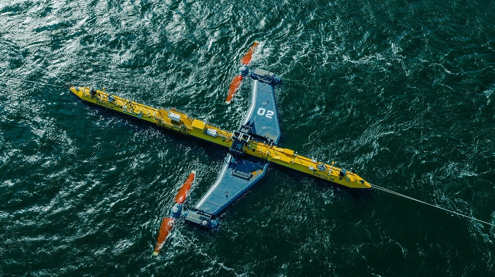 Orbital Marine Power O2 Most Powerful Tidal Turbine
