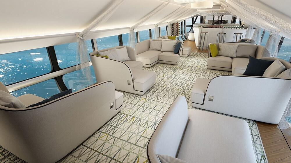 Airlander 10 Inside