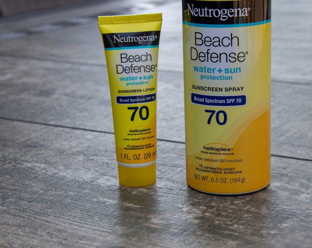 aveeno neutrogena sunscreen recall johnson