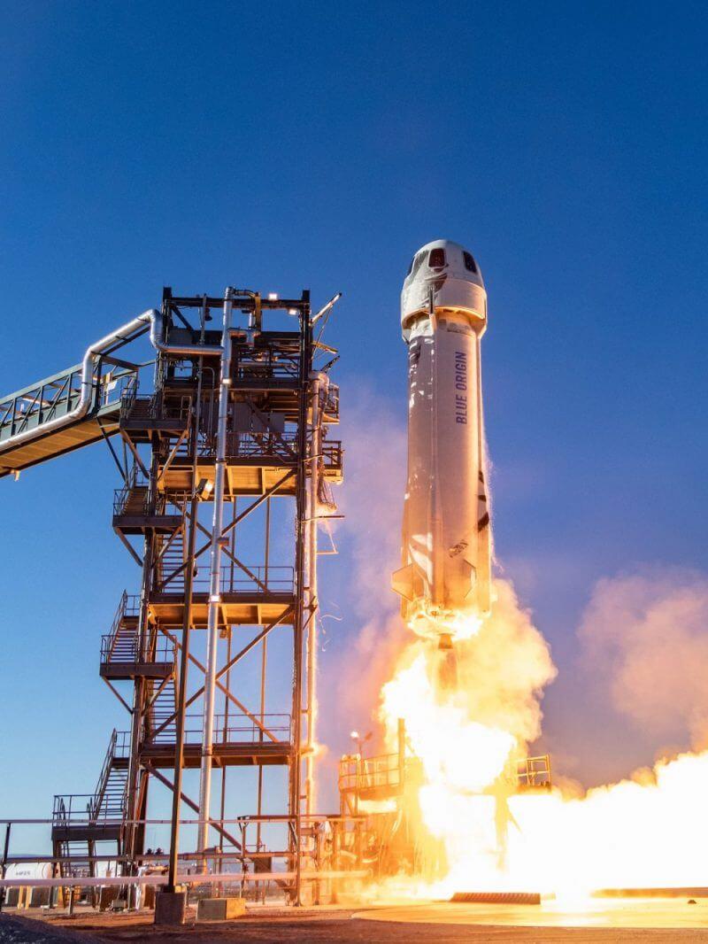 William Shatner Bezos' New Shepherd rocket