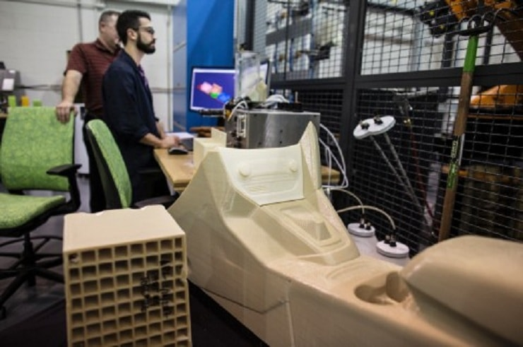 3-D printer used by ford