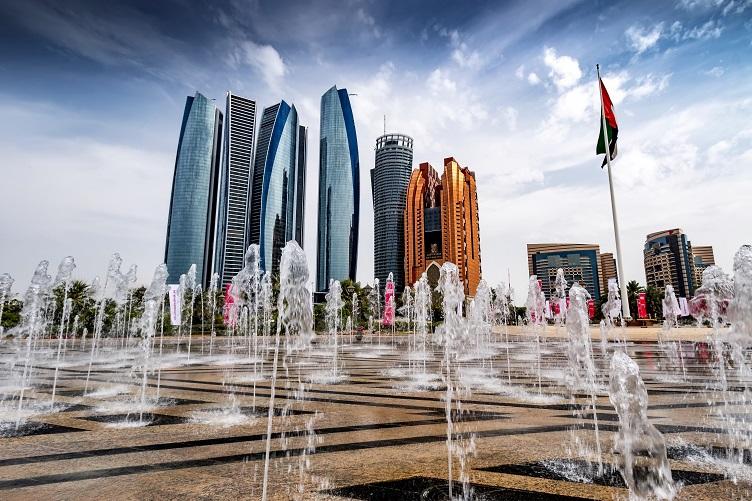 Abu Dhabi Skyline Bechetal