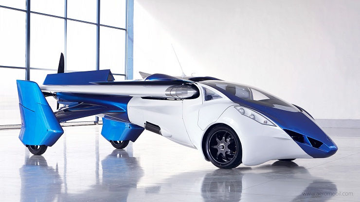 AeroMobil flying car-front