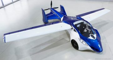 Glide through the Sky by Pre-booking the AeroMobil Flying Car