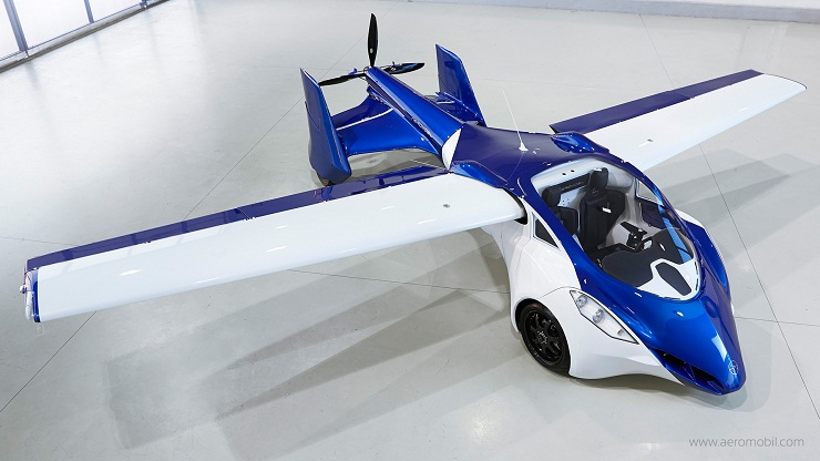 AeroMobil flying car-overview
