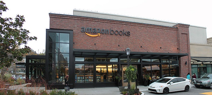 Amazon pop up stores