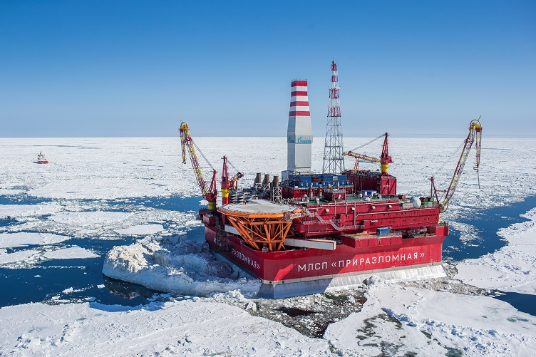Arctic Drill oil rich city