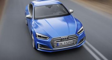 2018 Audi A5 Sportback Ribboned Off Prior to The Paris Auto Show 2016
