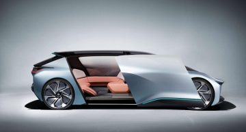 NIO EVE Autonomous Electric Car to roam on the streets of U.S. by 2020