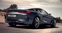 BMW Concept 8 Series Represents Modern Luxury with Sharp Features