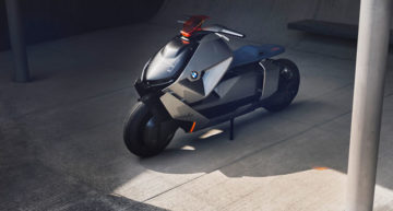 Zoom Past the Everyday Traffic in an Eco-friendly Way with the New BMW Motorrad