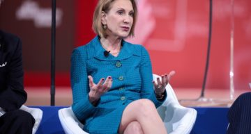 Carly Fiorina's Most Disputable Move As CEO