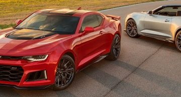 Chevrolet Camaro ZL1 Convertible is Equipped with a Suite of Performance Technologies