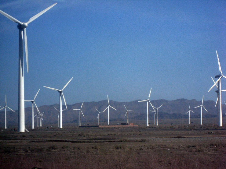 China's renewable energy investment Xinjiang