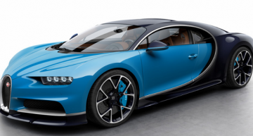 A Look at the $2.7 Million Bugatti Chiron Supercar