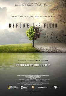 Climate change documentary Before The Flood