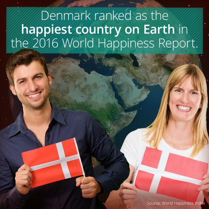 why is Denmark so happy