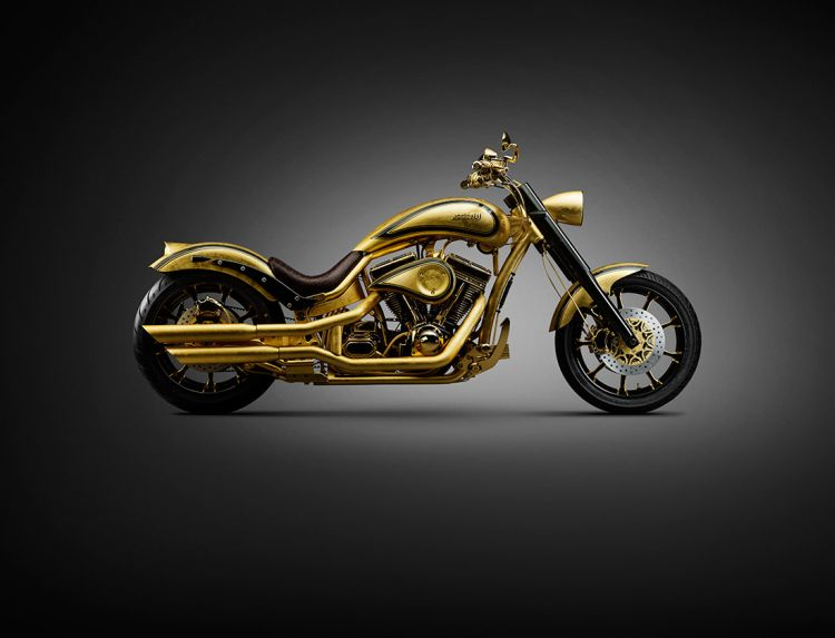 Goldfinger Most expensive Motorcycles