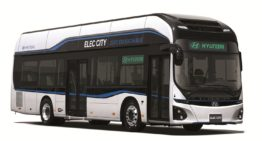 Hyundai Electric Bus that Recharges Within an Hour to be Out by 2018