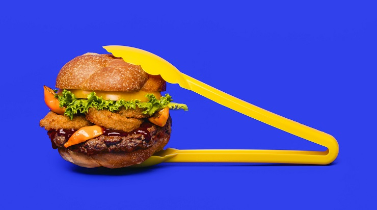 IF Burger Tongs Impossible Foods