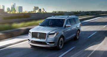 Lincoln Navigator SUV will take you to Places in 2018
