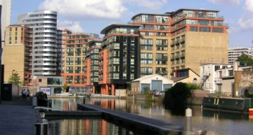 First London Floating Park to Open by May 2017 at Paddington Basin