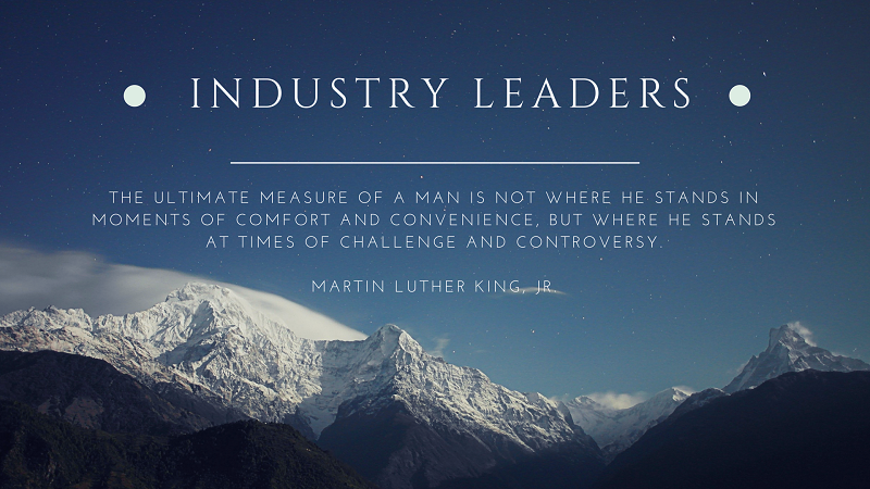 Martin Luther King Leadership Lessons