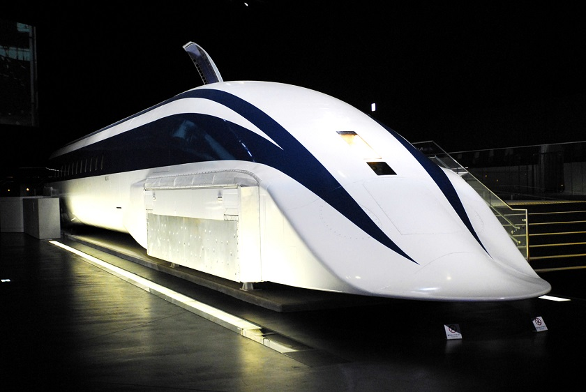 Innovation of Maglev Train at Olympics Tokyo