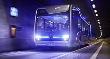 Meet World's First Ever Autonomous City Bus, the 'Mercedes-Benz Future Bus'