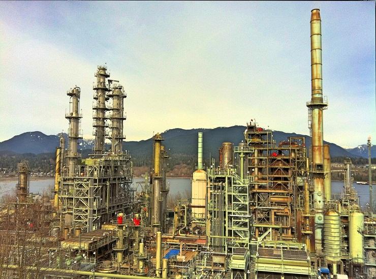 Moroccan oil refinery
