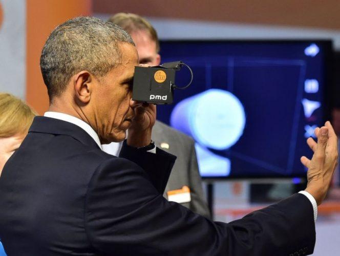 Obama's VR Experience